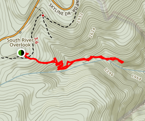 Lost Cliffs Trail Map