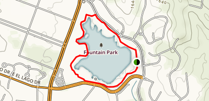 Fountain Hills Park Map