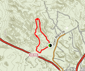 Camp Beale Loop Map