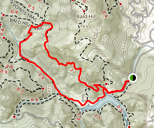 Hidden Meadow - Yolanda Trails Map