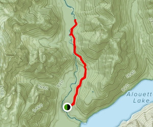 East Canyon Trail Map