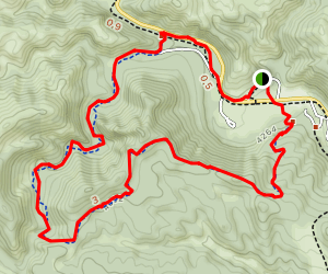 Lovers' Leap Trail Map