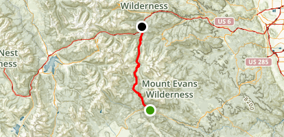 Guanella Pass Trail Map