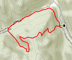 Polly to Wildcat Ridge Trail Loop Map