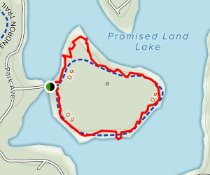 Conservation Island Nature Trail Map