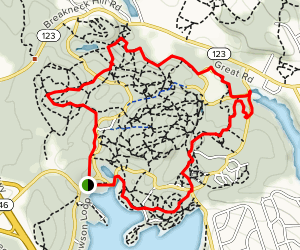 Lincoln Woods Trail Map