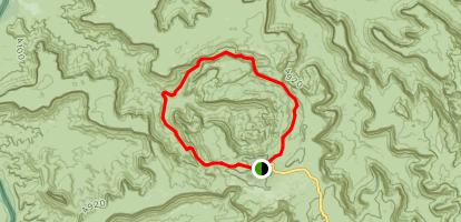 Syncline Loop Map