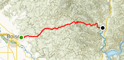 Rocky Canyon Road Map