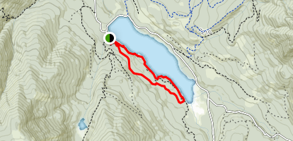 Hyalite Reservoir Trail Map