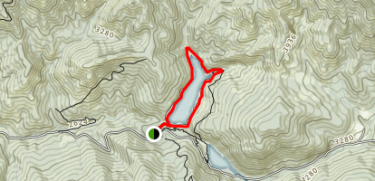 Squaw Lakes Trail Map