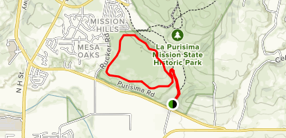 La purisma mission state park california alltrails - Valley memorial gardens mission tx ...