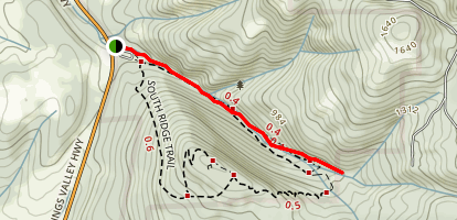 Plunkett Creek Trail Map