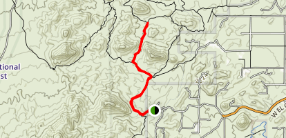 Thunderbird Trail Map