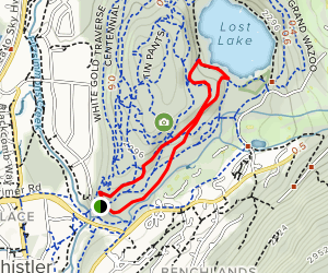 Lost Lake Nature Trail Map
