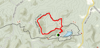 Purple Heart Trail Map