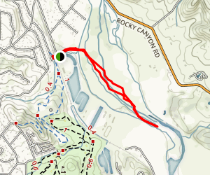 Juan Bautista de Anza Trail Map
