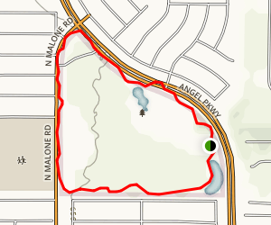 Celebration Park Loop Trail Map