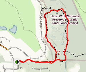 Hazel Wolf Wetlands Trail Map