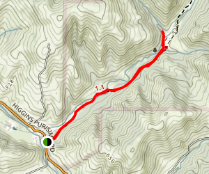 Burleigh Murray Ranch Trail Map