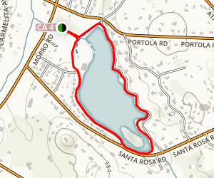 Atascadero Lake Park Map