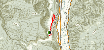 Falls Creek Loop Map