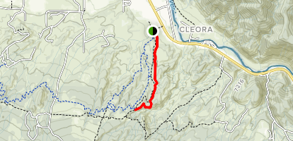 Race Track Trail Map