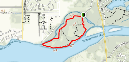 Norm Schoenthal Island Outer Loop Map