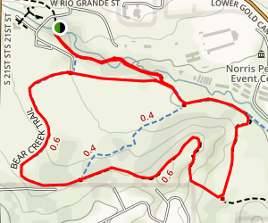 Lower Bear Creek Park Map