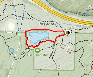 Tiger Mountain: Around the Lake Trail Map