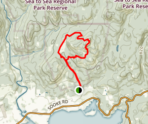 Mt. Manuel Quimper Map