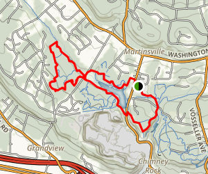 Watchung Mountain Park Trail Map