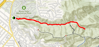 Sycamore Canyon Trail Map