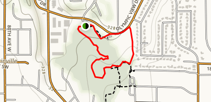 Lyndale Park Woods Trail Map