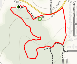 Lynndale Park Woods Trail Map