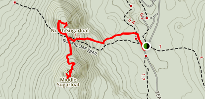 Sugarloaf Trail Map