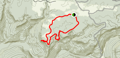 Amber's Den Ridge Trail Map
