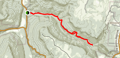 Prater Place Trail Map