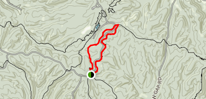 Mason Ridge Trail Map