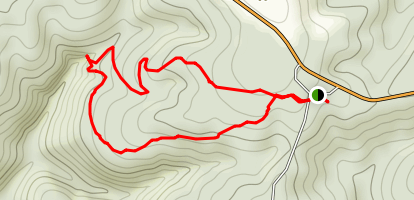 King's Bluff Loop Trail Map