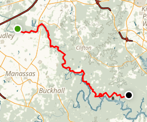Bull Run Trail Map