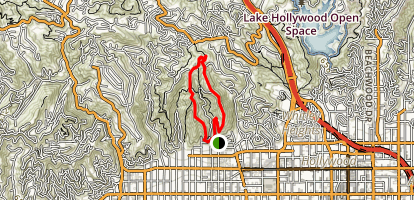 Runyon Canyon Trail Map