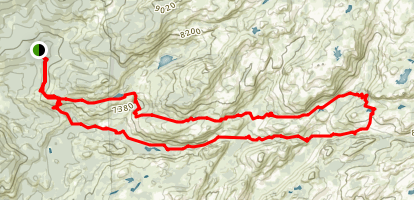 Emigrant Wilderness Loop Trail Map