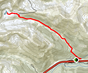 Herman Gulch Trail Map