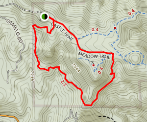 Parmalee Trail Loop Map
