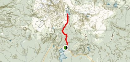 Green Lakes Trail Map