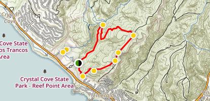 El Moro Canyon Loop Trail Map