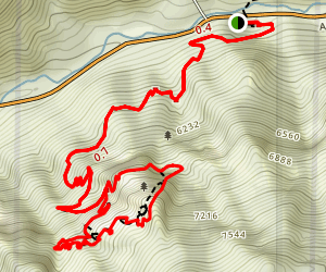 Timpanogos Cave Trail Map