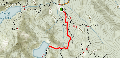 Lake Mary Trail Map