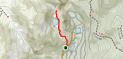 St. Mary's Glacier Map