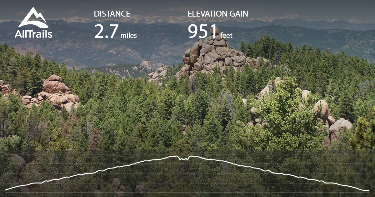 Devil S Head Lookout Trail To Fire Tower Colorado Maps